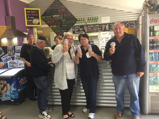 Denmark, Australia: Ice Cream at The Toffee Factory