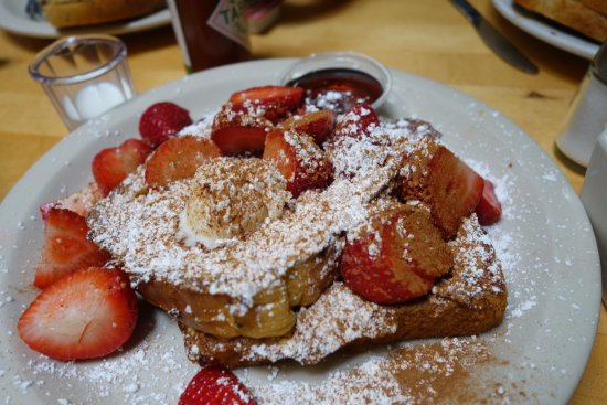 Toasties Cafe: french toast
