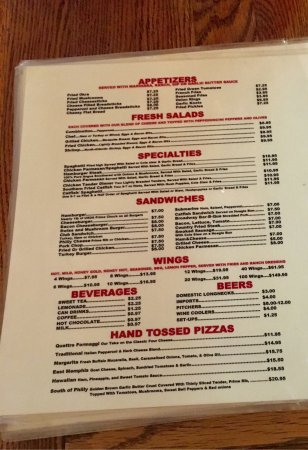 broadway pizza memphis 2581 broad ave menu prices restaurant