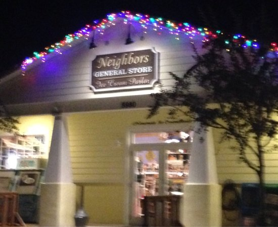 Port Orange, FL: Great handmade ice cream and a neat country store!  Very friendly staff