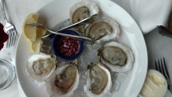 Bleu: When on the Cape, eat the oysters