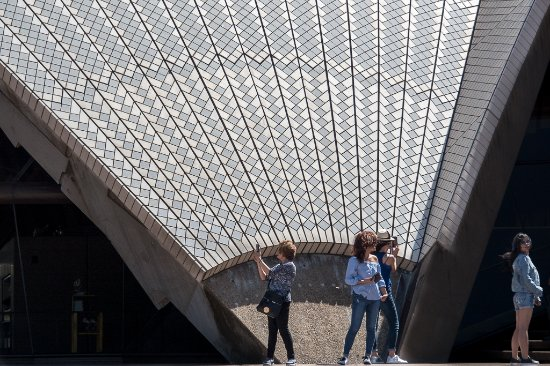 Campbelltown, Australia: A differnet view of the opera house