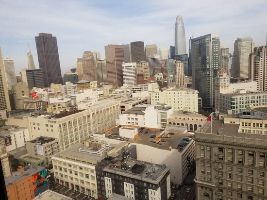 Hilton Parc 55 San Francisco: The view from the 28th floor