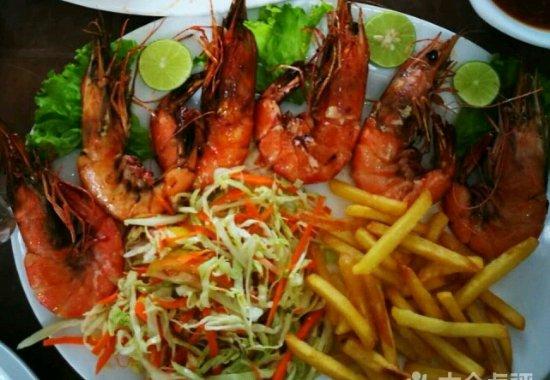 coral reef sea food restaurant