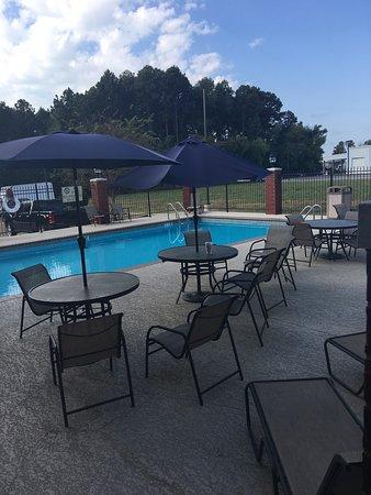 Δυτικό Monroe, Λουιζιάνα: Outdoor gated pool-clean!