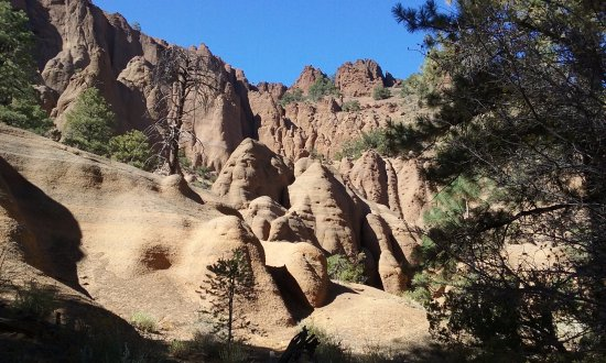 Red Mountain Trail : spectacular view