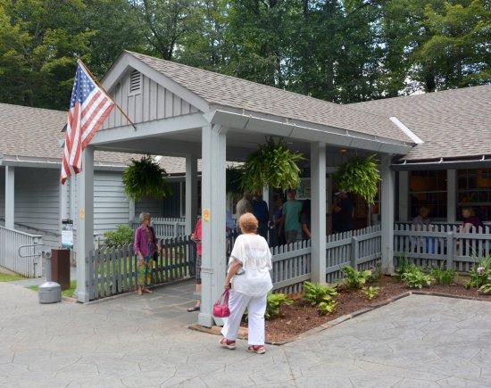 Meadows of Dan, VA: Entrance to Visitor Center