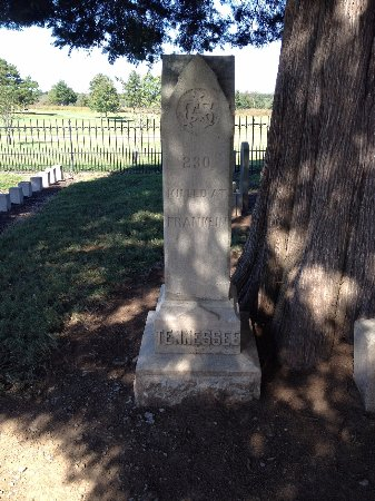 Franklin, TN: Number of Tennessee dead(several unknown buried there as well)