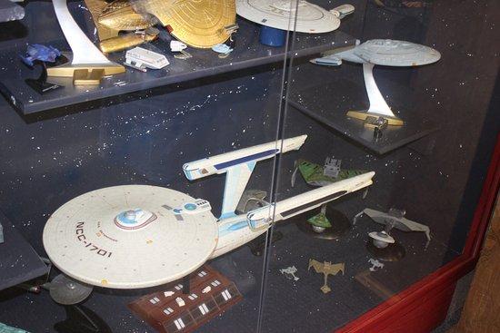 Star Trek Voyage Home Museum: Models