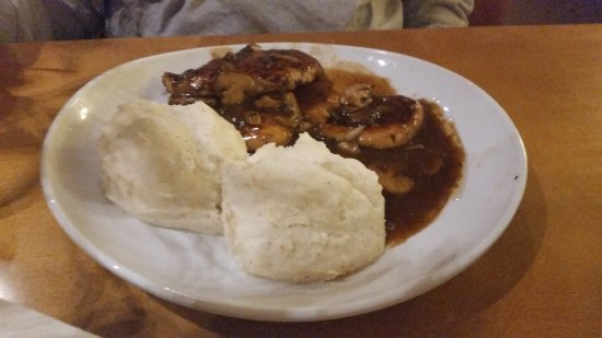 Olive Garden: Chicken Marsala W/o Cheese U0026 Mashed Potatoes
