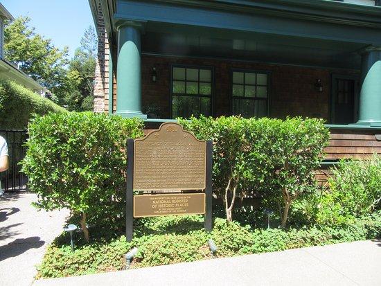 Palo Alto, Californien: シリコンバレー発祥の地 の看板