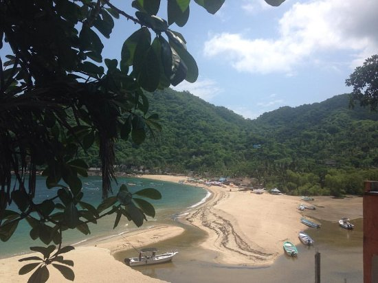 Hotel Lagunita: Vista de Yelapa