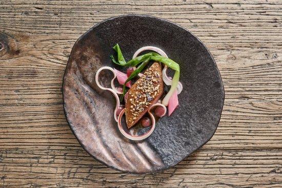 Tudor Farmhouse Hotel: Food