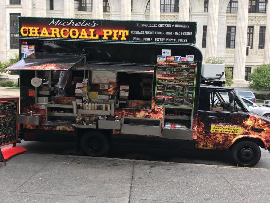 Michele S Charcoal Pit Food Truck Albany Restaurant