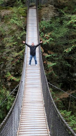 North Vancouver, Canada: Have the bridge to yourself!