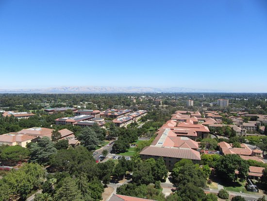 Palo Alto, Californien: 上からの眺め