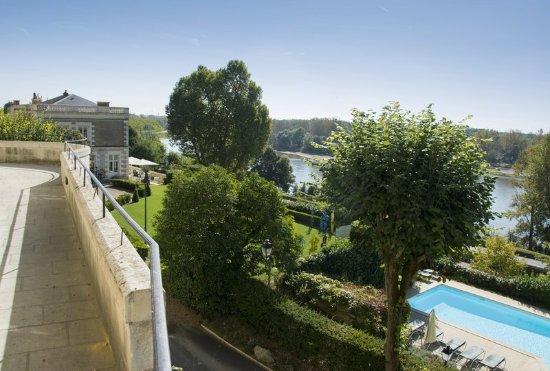Rochecorbon, France: Pool