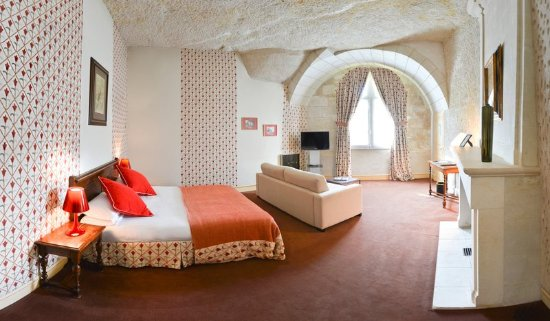 Rochecorbon, France: Room
