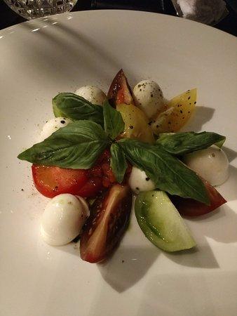 The Okura Prestige Bangkok: Room service tomato salad