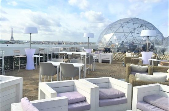 3-Hour Small Group Paris Rooftop Bar...