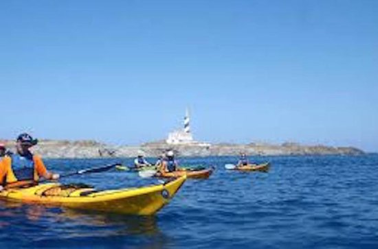Half-day kayak excursion and snorkelling in Menorca