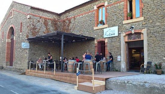 Siran, Frankrig: La cave