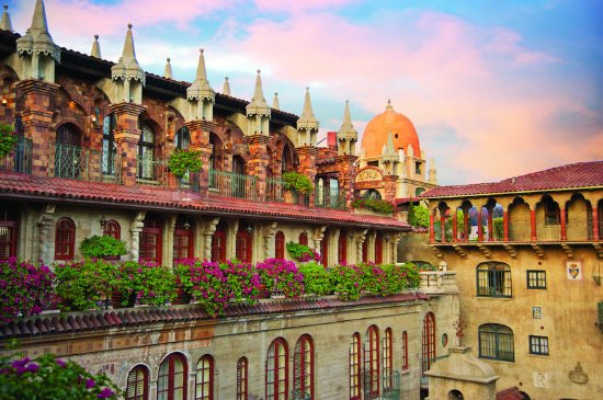 The Mission Inn Hotel and Spa: Authors Row & Alhambra Dome