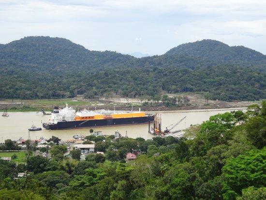 Gamboa Rainforest Resort: Panama Canal from Aeriel tram tour
