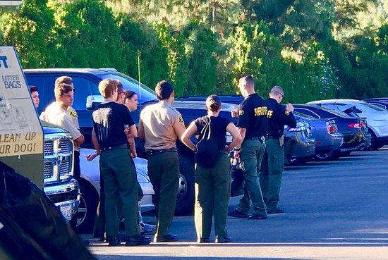 Yorba Linda, كاليفورنيا: Police drills