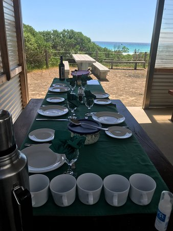 Kingscote, Australia: Beachside lunch