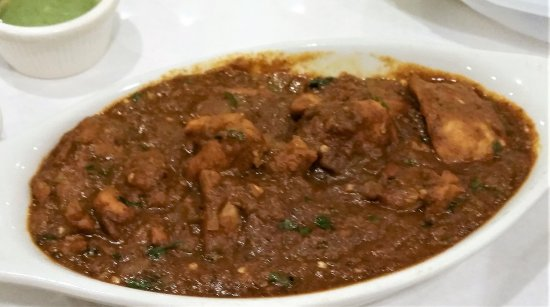 Guilderland, นิวยอร์ก: Chicken Chettinad.