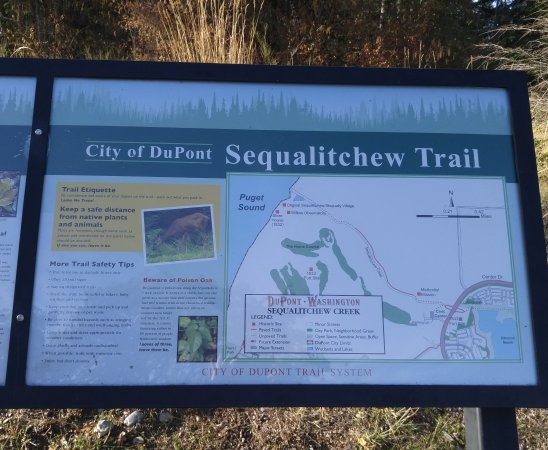 Dupont, Waszyngton: Sequalitchew Creek Trail Head