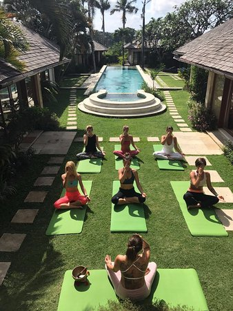 Kerobokan, Indonesia: Openair Yoga Class