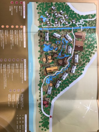 Centara Grand Beach Resort Phuket: map of the resort