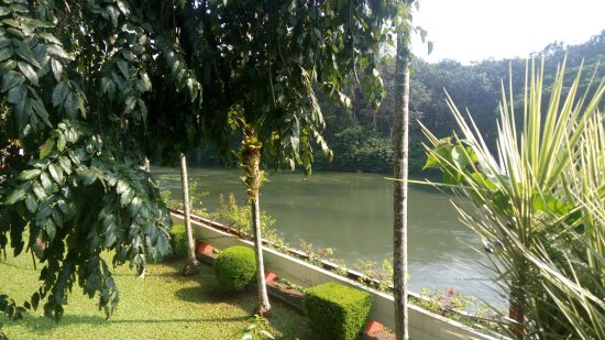 Thodupuzha, Indien: View from the Hotel