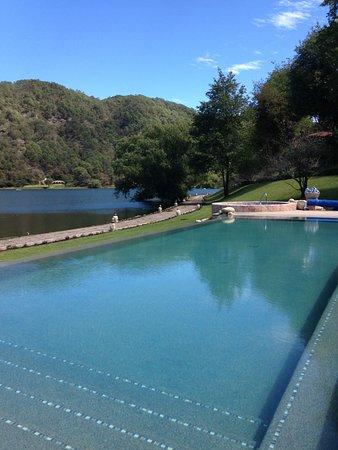 Mascota, Mexico: Alberca del hotel sierra lago
