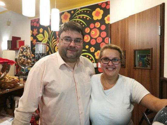 Szolnok, Hungria: Kátya és András