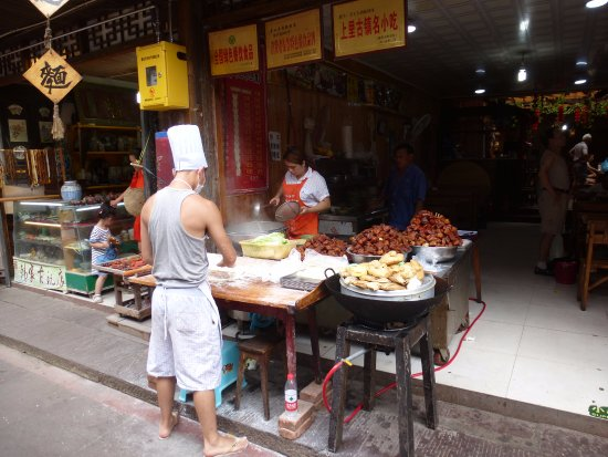Ya'an, China: hand pulled noodles are found everywhere in the old town
