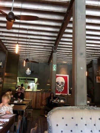 Haas Collective Coffee: rear interior
