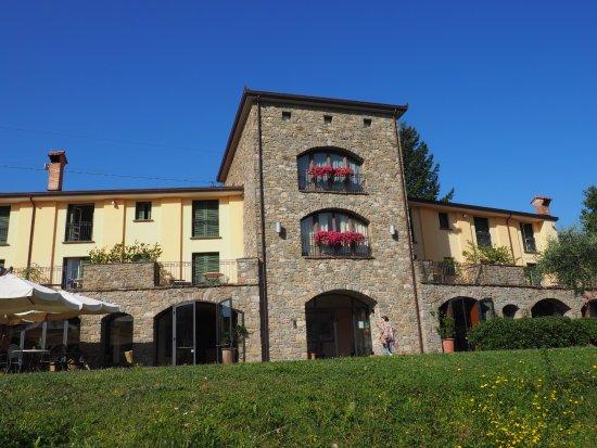 Ca del Moro Resort : L'entrée de l'hotel
