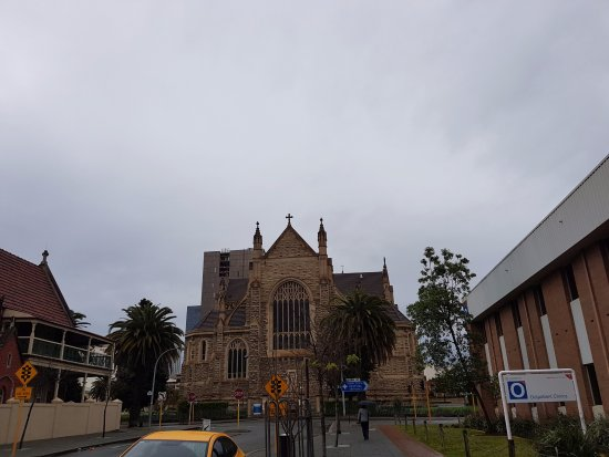 St. Mary's Cathedral: From the Side
