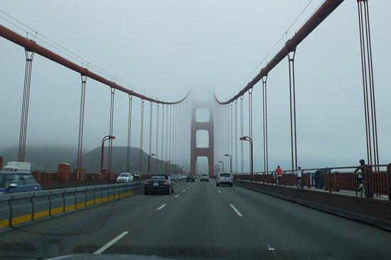 Sausalito, CA: Nebel am Morgen