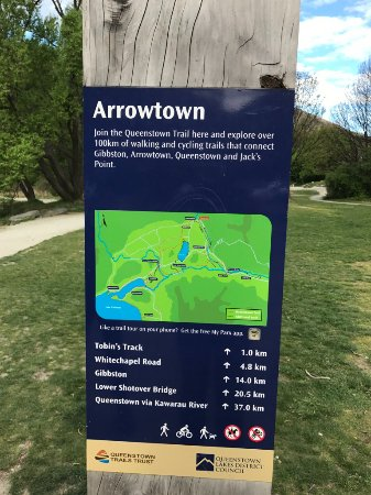Arrowtown, Nuova Zelanda: signage