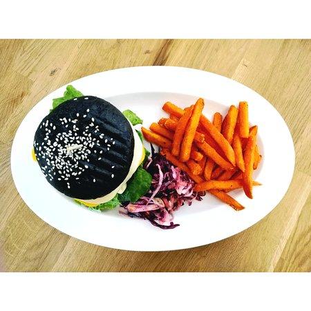 Jyväskylä, Finland: Lentil burger