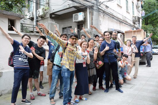 Shanghai, China: Let's fly~~~ Walking tour for foreign students