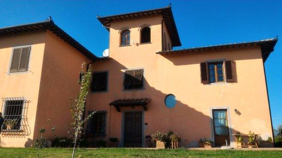 Cerreto Guidi, Italia: La palazzina principale