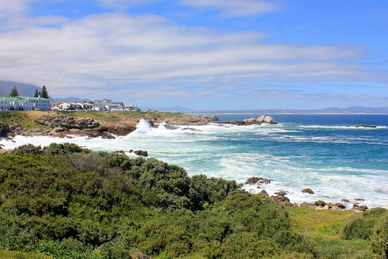 Hermanus, Republika Południowej Afryki: view towards the town centre