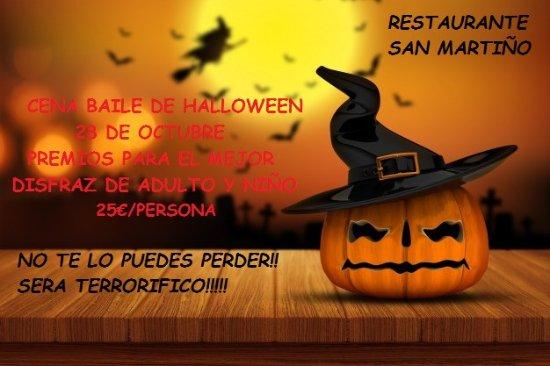 Teo, İspanya: Cena de Halloween en el Restaurante San Martiño, no te lo puedes perder, será una noche terroríf