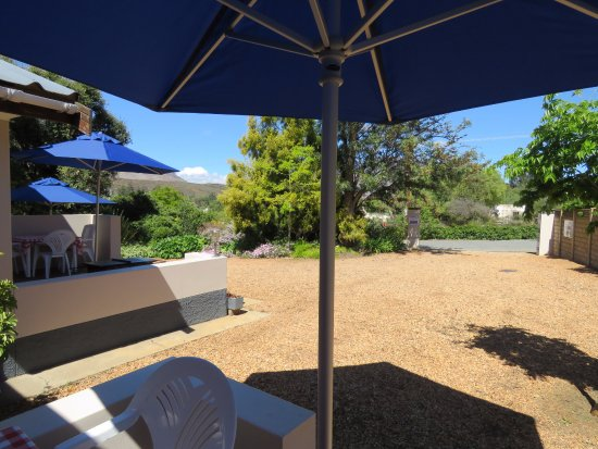 Barrydale, South Africa: Barbeque area