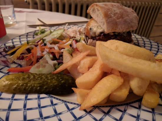 Shieldaig, UK: Burger